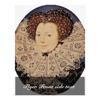 Retrato de una señora desconocida Oval By Nicholas Tarjeton