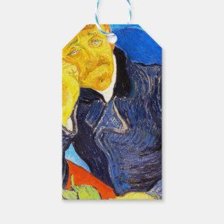Retrato de Van Gogh el | del Dr. Gachet Etiquetas Para Regalos