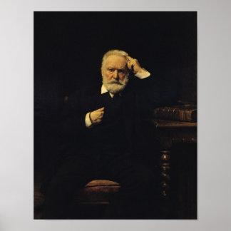 Retrato de Victor Hugo 1879 Póster