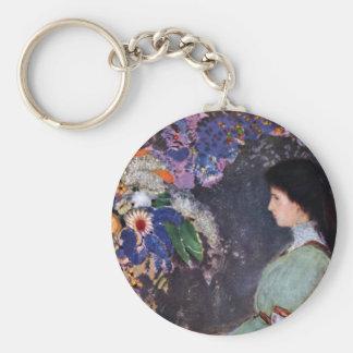 Retrato de Violette Heymann de Odilon Redon Llaveros Personalizados