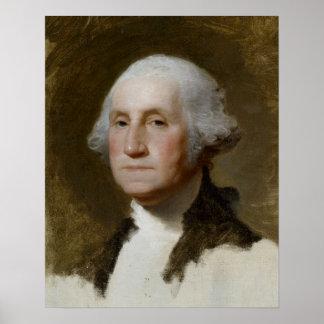 Retrato de Washington Póster