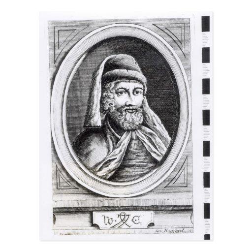 Retrato de William Caxton Tarjetas Postales