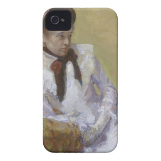 Retrato del artista - Mary Cassatt Carcasa Para iPhone 4 De Case-Mate