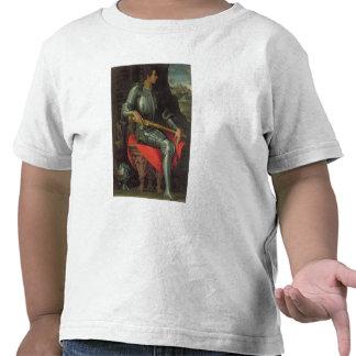 Retrato del de Medici, 1534 de Alessandro (aceite Camiseta