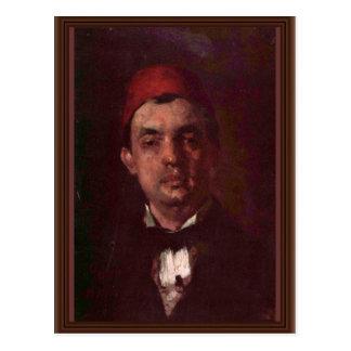 Retrato del Dr. D. Grecescu By Grigorescu Nicolae Postales