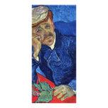 Retrato del Dr. Gachet By Vincent van Gogh Tarjeta Publicitaria