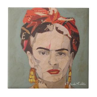 Retrato del en Coyoacán de Frida Kahlo Tejas