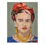 Retrato del en Coyoacán de Frida Kahlo Postal