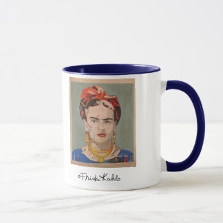 Retrato del en Coyoacán de Frida Kahlo Taza
