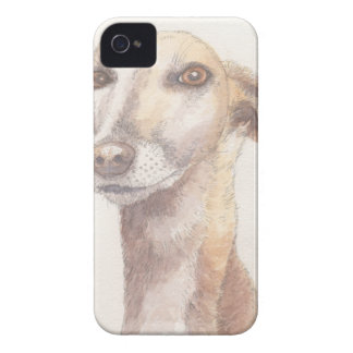 Retrato del galgo carcasa para iPhone 4 de Case-Mate