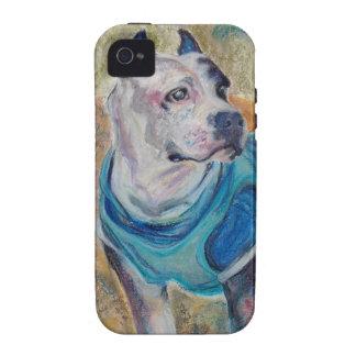 Retrato del mascota de la ocasión Case-Mate iPhone 4 fundas