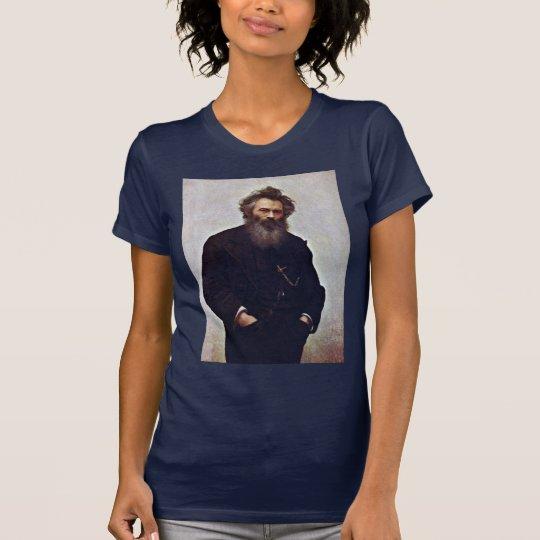 Retrato del pintor Ivan Shishkin de Ivan Niko Camiseta