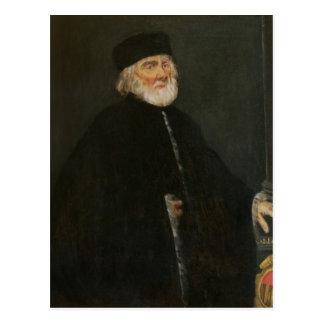 Retrato del procurador Nicolo Priuli Postal