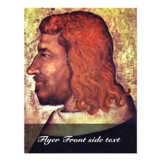 Retrato del rey francés Jean Le Bon (Juan Ii T Folleto 21,6 X 28 Cm