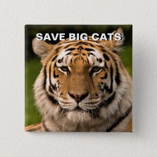 Retrato del tigre de Sumatran Chapa Cuadrada