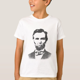 Retrato del vintage de Abraham Lincoln Camiseta