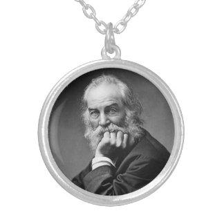 Retrato esencial de Walt Whitman Colgante Redondo