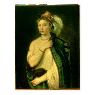 Retrato femenino, c.1536 postal