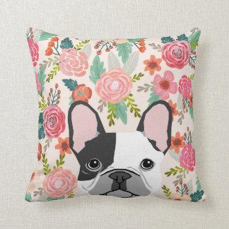 Retrato floral lindo del mascota de la almohada