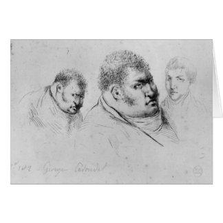 Retrato Georges Cadoudal del 25 de mayo de 1804 Tarjeta De Felicitación
