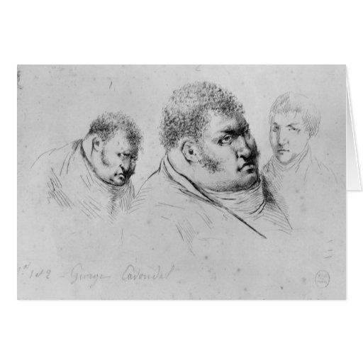 Retrato Georges Cadoudal del 25 de mayo de 1804 Tarjeta