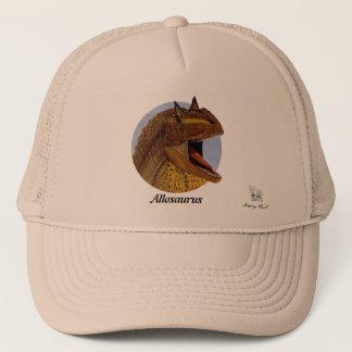 Retrato Gregory Paul del Allosaurus del gorra del