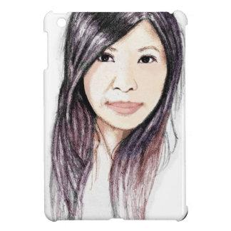 Retrato hermoso de una mujer asiática