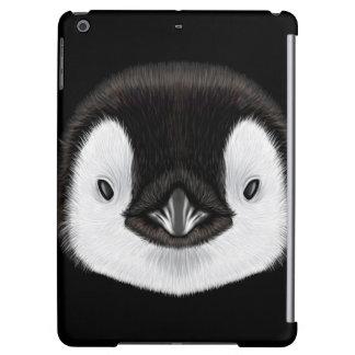 Retrato ilustrado del polluelo del pingüino de