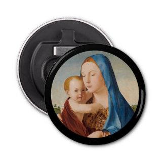 Retrato Maria y bebé Jesús Abrebotellas