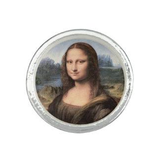 Retrato/pintura de Mona Lisa Anillo