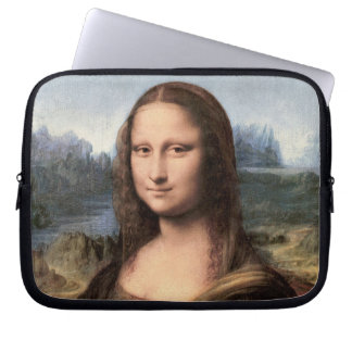 Retrato/pintura de Mona Lisa Funda Ordendadores