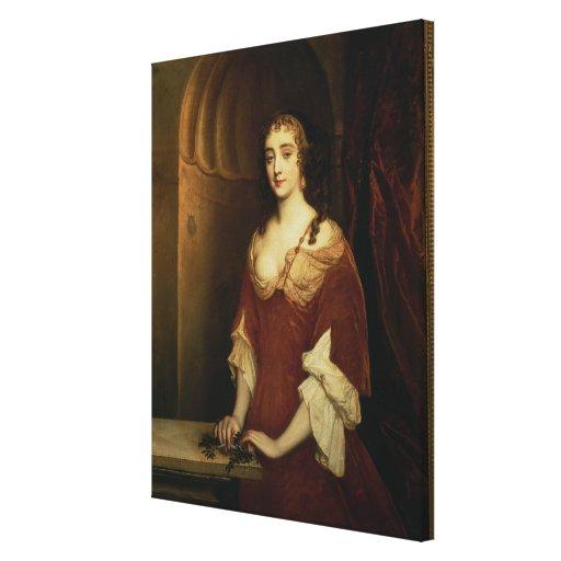 Retrato probable de Nell Gwynne (1650-87), mistre Impresion De Lienzo