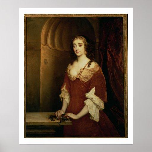 Retrato probable de Nell Gwynne (1650-87), mistre Poster