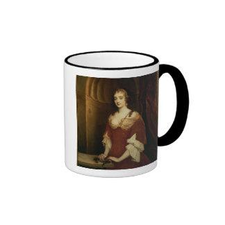 Retrato probable de Nell Gwynne (1650-87), mistre Taza A Dos Colores