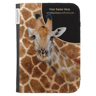 Retrato y piel - personalizar de la jirafa