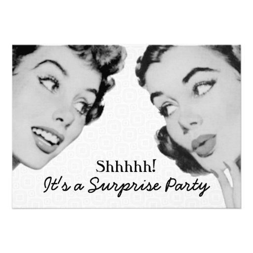 1950s Birthday Party Invitation