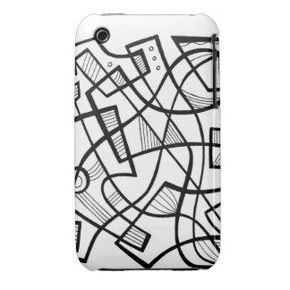 Retro excelente clásico fabuloso iPhone 3 Case-Mate fundas