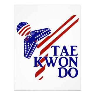 Retroceso de los E E U U el Taekwondo 1
