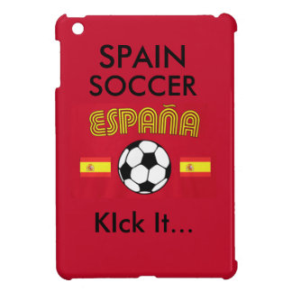 Retroceso del fútbol de España él… iPad Mini Funda