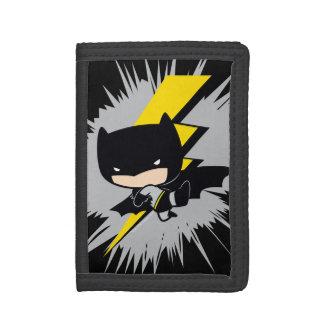 Retroceso del relámpago de Chibi Batman