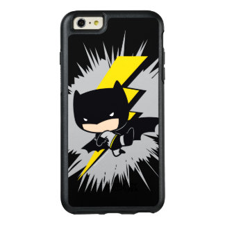 Retroceso del relámpago de Chibi Batman Funda Otterbox Para iPhone 6/6s Plus