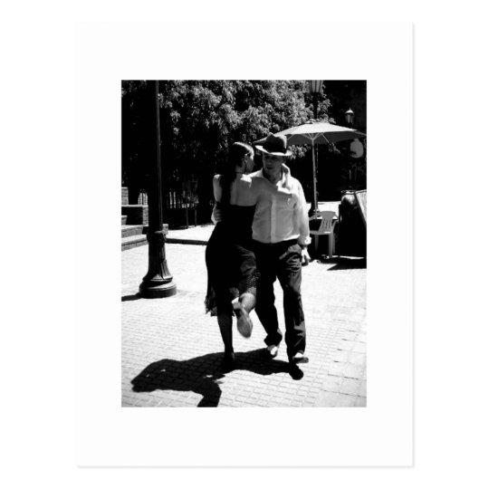 Retroceso del tango postal