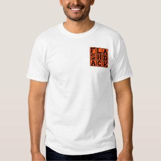 Retroceso, memoria anterior camisetas