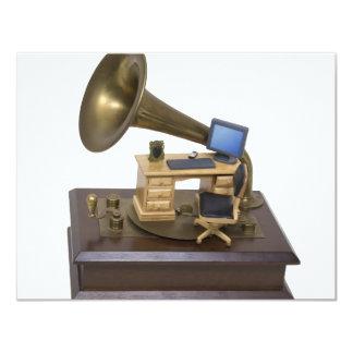 RetroOfficeModernTools072709 Invitación 10,8 X 13,9 Cm