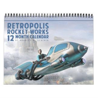 Retropolis Rocket trabaja el calendario