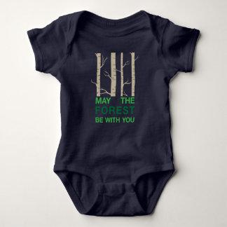 Retruécano del bosque body para bebé