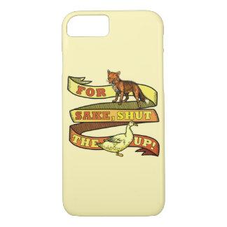 Retruécano divertido del animal del pato del Fox Funda iPhone 7
