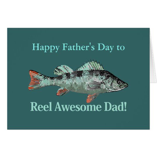 Retruécano impresionante del día de padre del tarjeta de felicitación