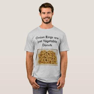 Retruécanos de la comida de los anillos de cebolla camiseta