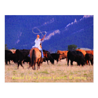 Reúna en el condado de Johnson, Wyoming Postal